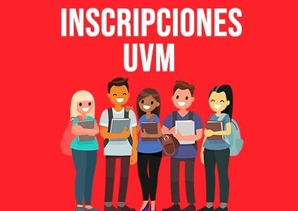 Inscripciones UVM en línea