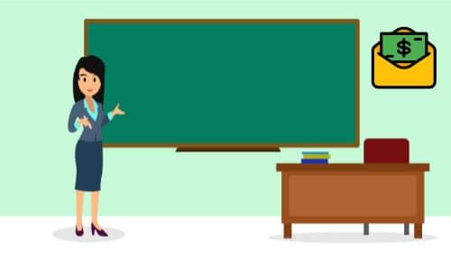 ¿Cuánto gana un maestro?