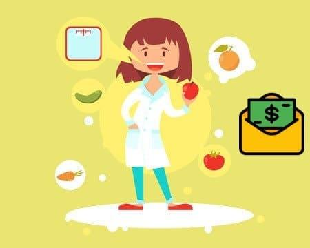 ¿Cuánto gana un nutriólogo?