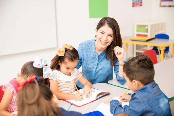 Educadora de preescolar