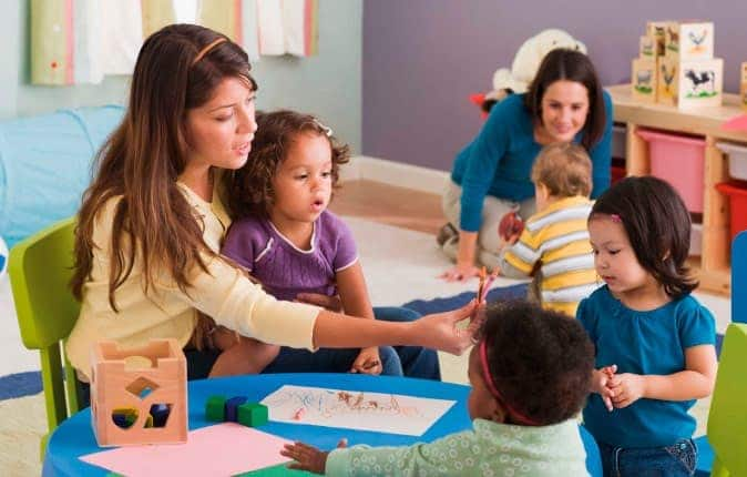 Maestra de educación preescolar