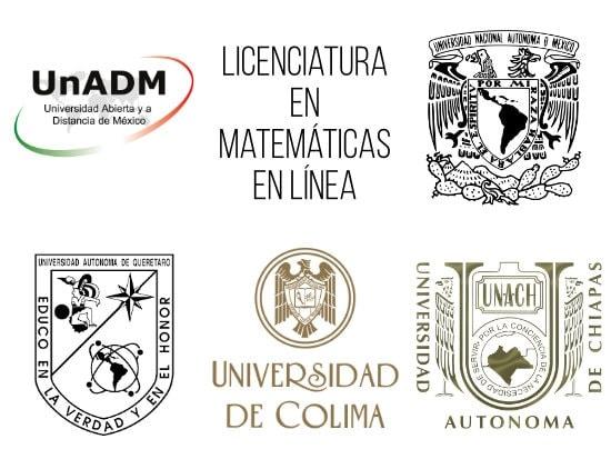 Licenciatura en matemáticas en línea 2