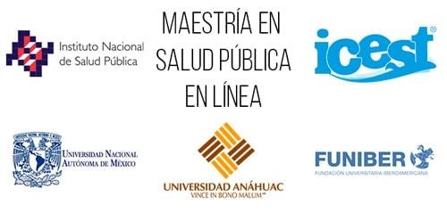 Universidades que ofrecen maestría en salud pública en línea