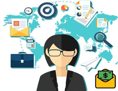 ¿Cuánto gana un mercadólogo en línea?