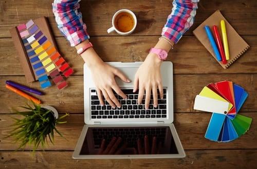 Diseño gráfico en línea