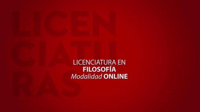 Licenciatura en Filosofía en línea 1
