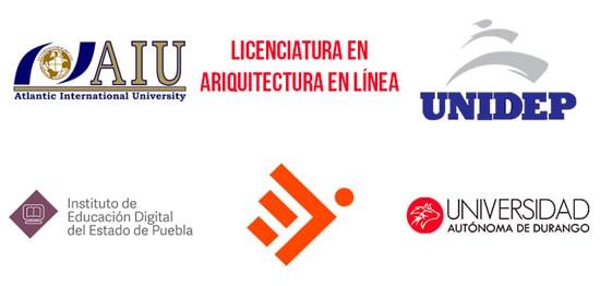Universidades para estudiar arquitectura en línea