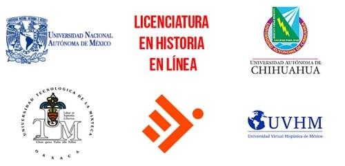 Universidades que ofrecen historia en línea