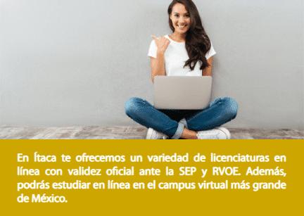 Licenciatura en línea Ítaca