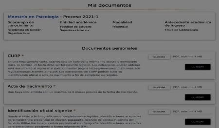 Maestrías en línea UNAM 1